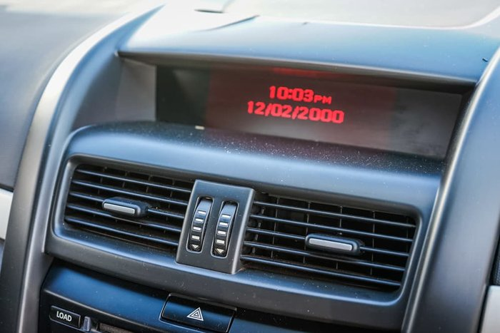 2010 Holden Ute SS VE MY10 Orange