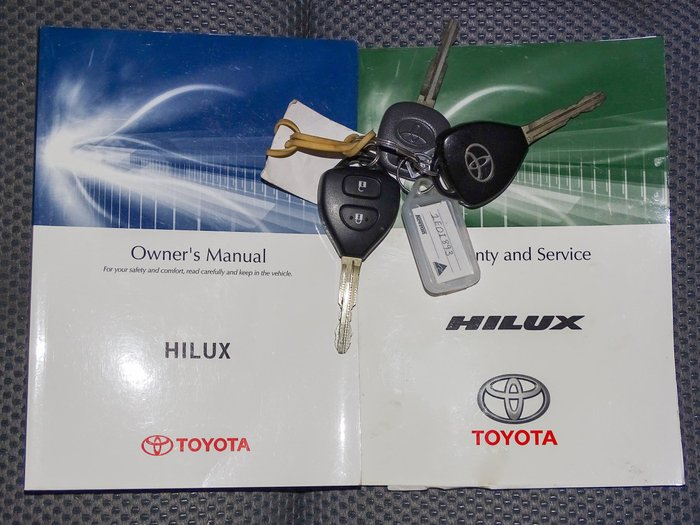 2013 Toyota Hilux SR5 KUN26R MY12 4X4 Charcoal Grey