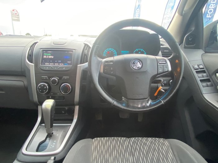 2015 Holden Colorado LS-X RG MY16 4X4 Dual Range Black