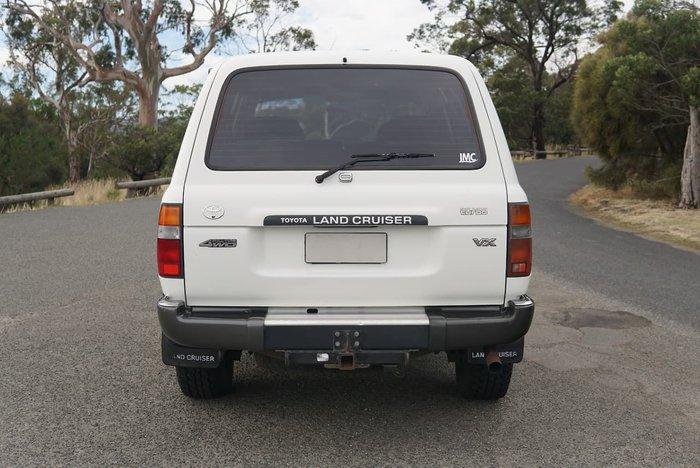 1992 TOYOTA LANDCRUISER Sahara HDJ80R White