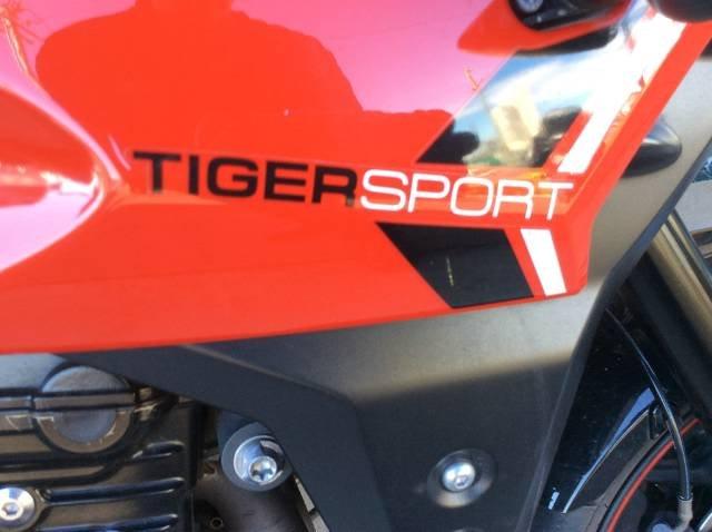 2013 TRIUMPH TIGER SPORT DUAL PURPOSE RED