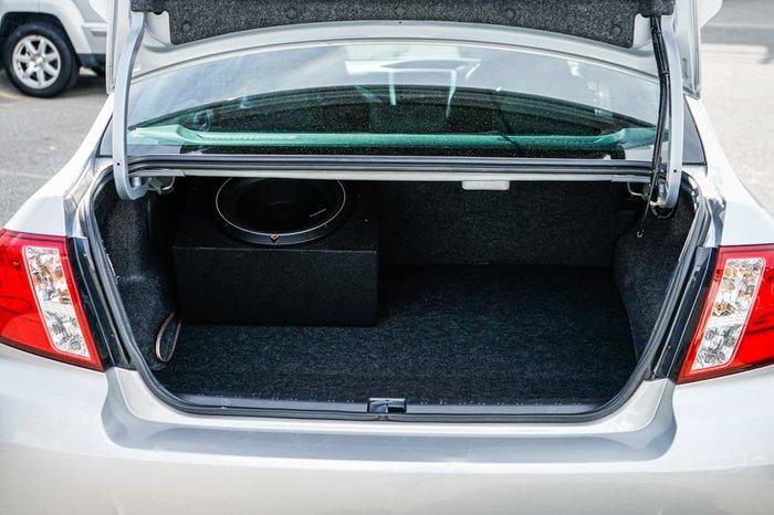 2011 Subaru Impreza WRX G3 MY11 AWD Spark Silver Metallic