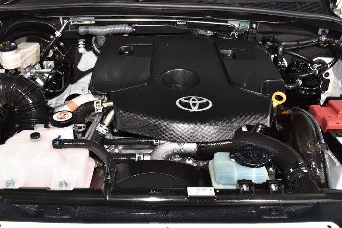 2018 Toyota Hilux SR5 GUN126R 4X4 Dual Range White