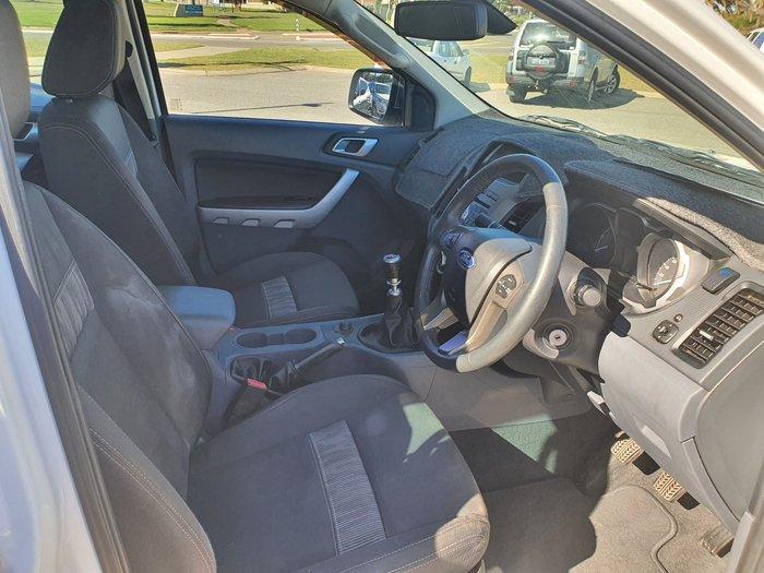 2013 Ford Ranger XLT PX 4X4 Dual Range Cool White