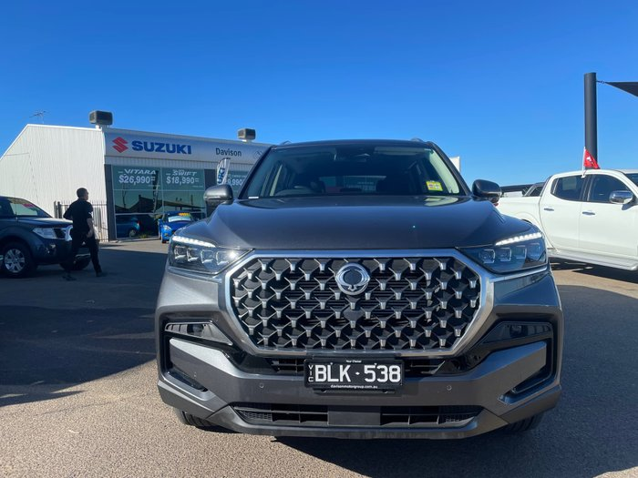 2021 SsangYong Rexton ELX Y450 MY21 4X4 Dual Range Marble Grey