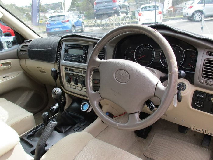 2005 Toyota Landcruiser GXL HDJ100R 4X4 Constant Sandy Taupe