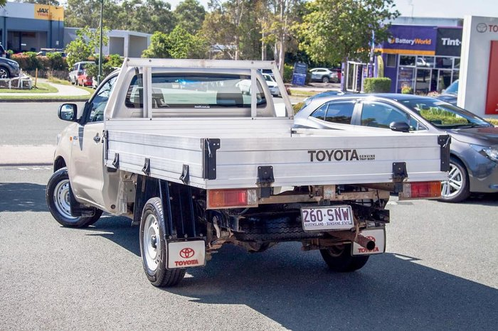2012 Toyota Hilux Workmate TGN16R MY12 Gold