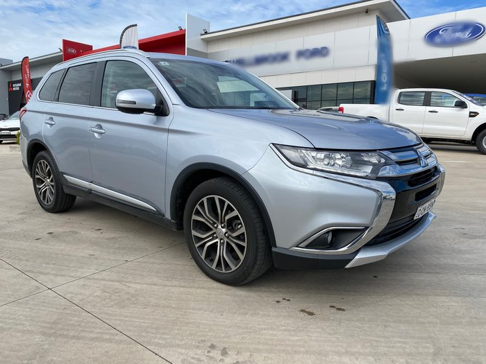 2017 Mitsubishi Outlander LS Safety Pack ZK MY18 AWD Sterling Silver
