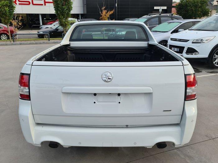 2017 Holden Ute VF Series II MY17 Heron White