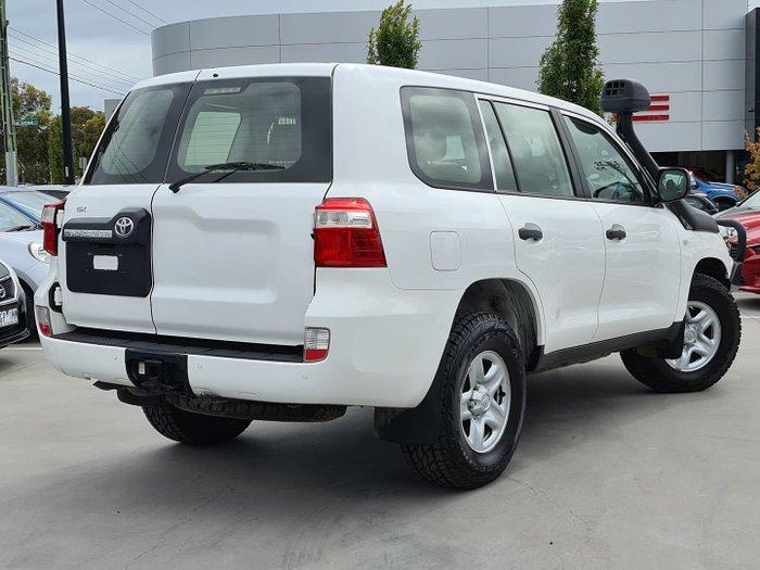 2015 Toyota Landcruiser GX VDJ200R MY13 4X4 Dual Range Glacier White