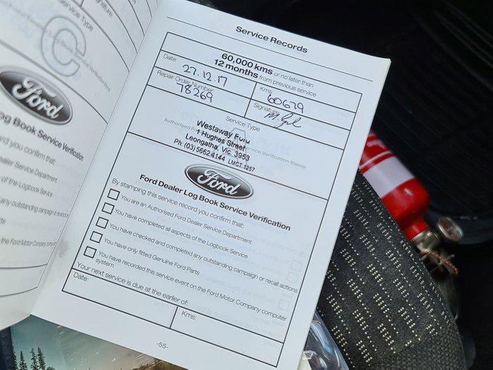 2014 Ford Falcon Ute FG MkII Lightning Strike
