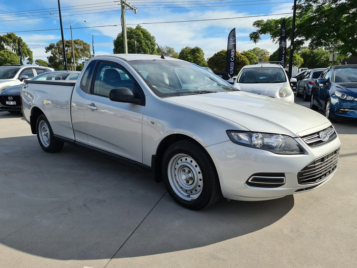 2014 Ford Falcon Ute FG MkII Winter White