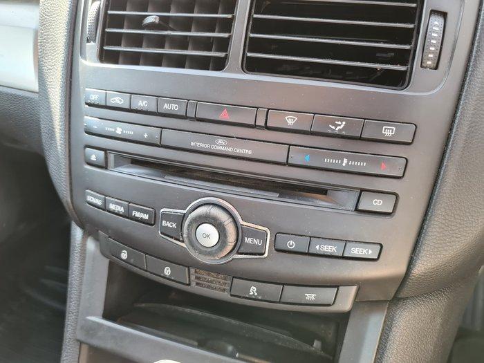 2014 Ford Falcon Ute FG MkII Winter White