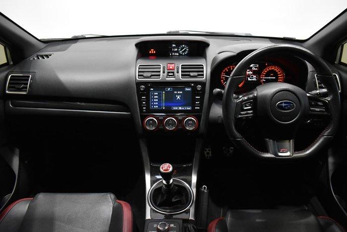 2016 Subaru WRX STI Premium V1 MY17 AWD Crystal White