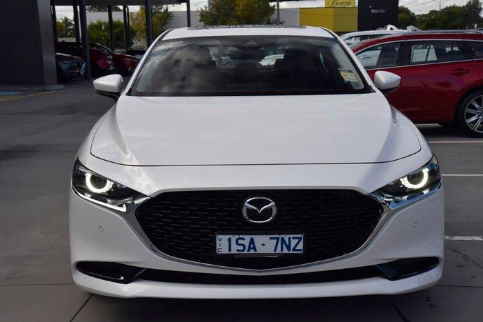 2020 Mazda 3 G25 Astina BP Series Snowflake White Pearl