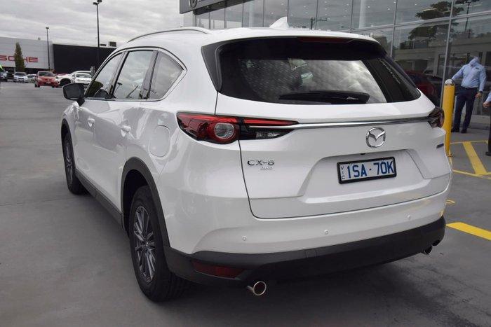 2021 Mazda CX-8 Touring KG Series AWD Snowflake White Pearl