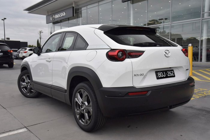 2021 Mazda MX-30 G20e Astina DR Series Arctic White