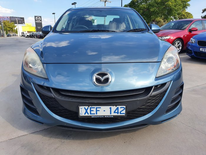 2009 Mazda 3 Maxx BL Series 1 Indigo Lights