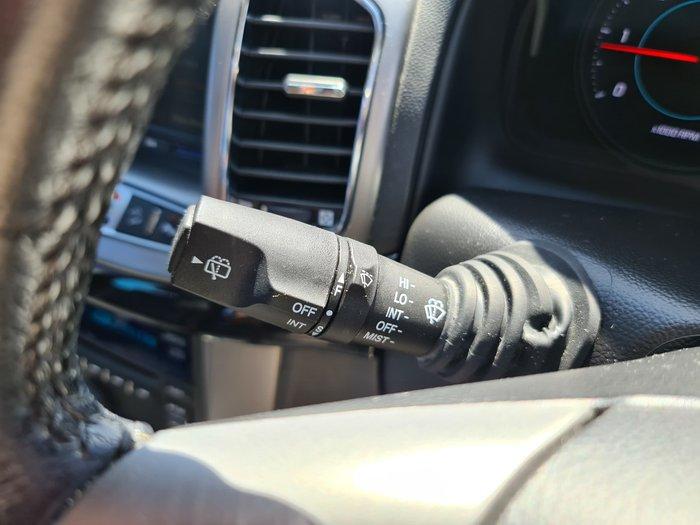 2012 Holden Captiva 7 LX CG Series II AWD Carbon Flash