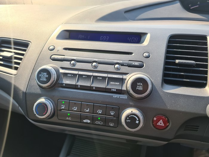 2007 Honda Civic VTi 8th Gen MY07 Satin Silver