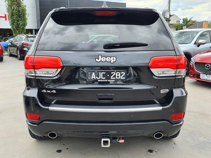 2015 Jeep Grand Cherokee Overland WK MY15 4X4 Dual Range Brilliant Black