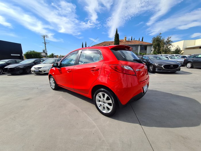 2013 Mazda 2 Maxx Sport DE Series 2 MY14 True Red