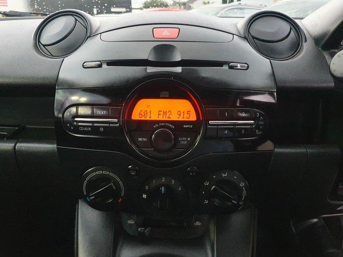 2011 Mazda 2 Neo DE Series 1 MY10 Aluminium