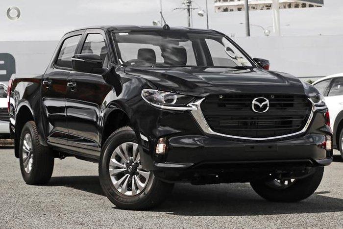 2020 Mazda BT-50 XT TF 4X4 Dual Range True Black