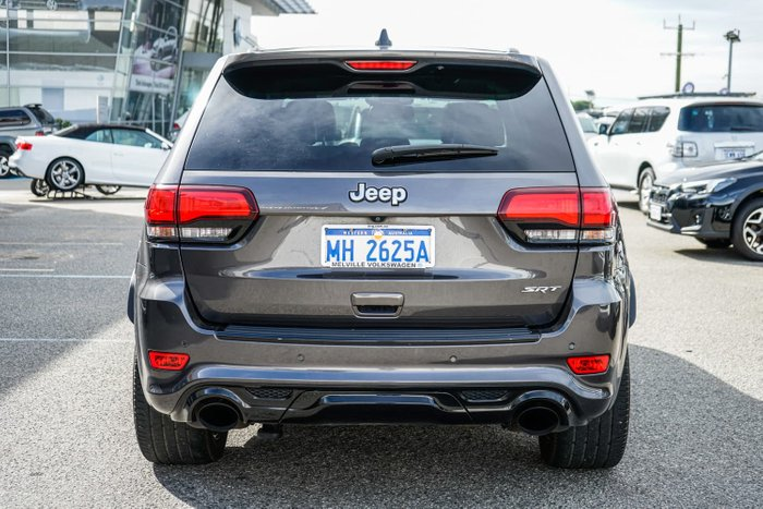 2016 Jeep Grand Cherokee SRT WK MY15 4X4 On Demand Granite Crystal