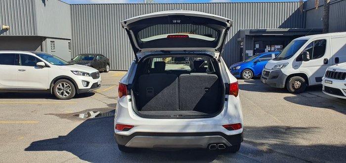 2017 Hyundai Santa Fe Elite DM5 Series II MY18 4X4 On Demand White