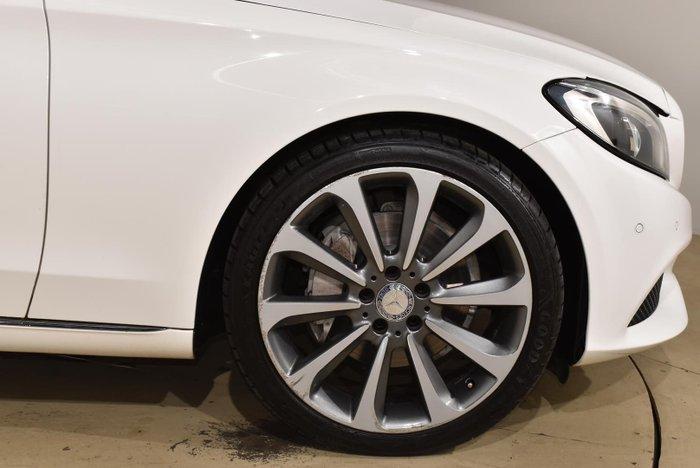 2017 Mercedes-Benz C-Class C250 W205 Polar White