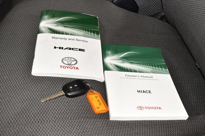 2018 Toyota Hiace KDH201R French Vanilla