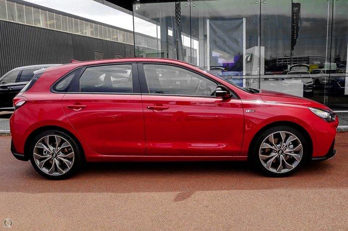 2021 Hyundai i30 N Line PD.V4 MY21 Fiery Red