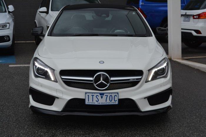 2014 Mercedes-Benz CLA-Class CLA45 AMG C117 Four Wheel Drive Cirrus White