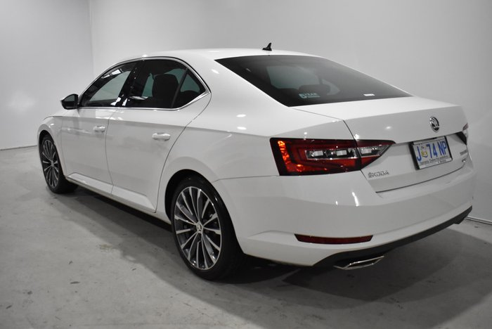2018 SKODA Superb 206TSI NP MY19 4X4 Constant Candy White