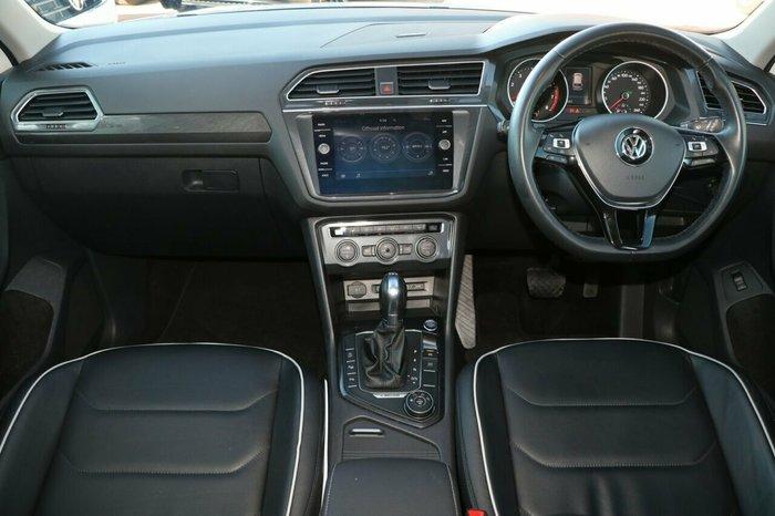 2018 Volkswagen Tiguan 162TSI Sportline 5N MY18 Four Wheel Drive WHITE