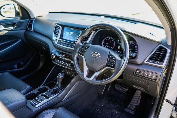 2016 Hyundai Tucson Highlander TLe MY17 AWD White
