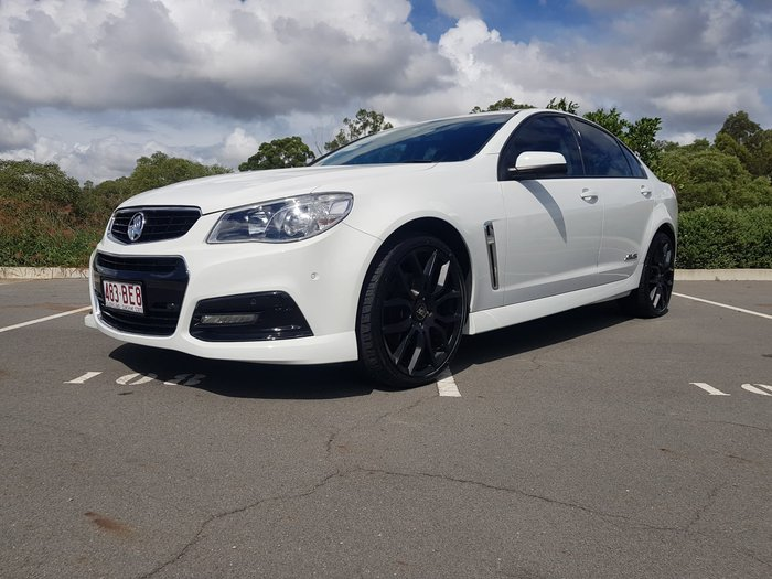 2014 Holden Commodore SS VF MY14 Heron White