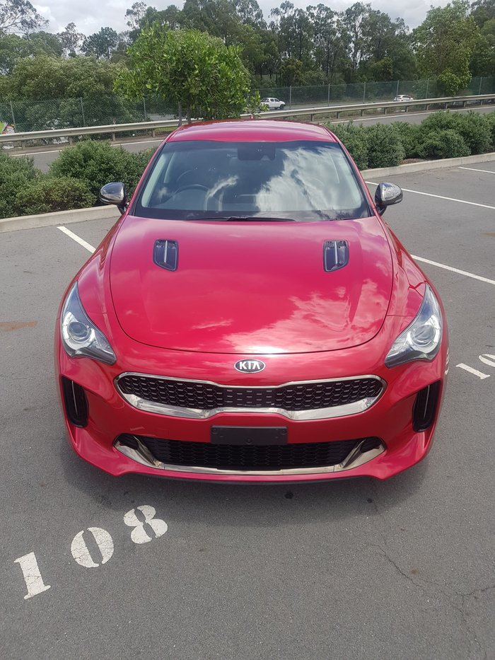 2018 Kia Stinger 330S CK MY18 Hichroma Red