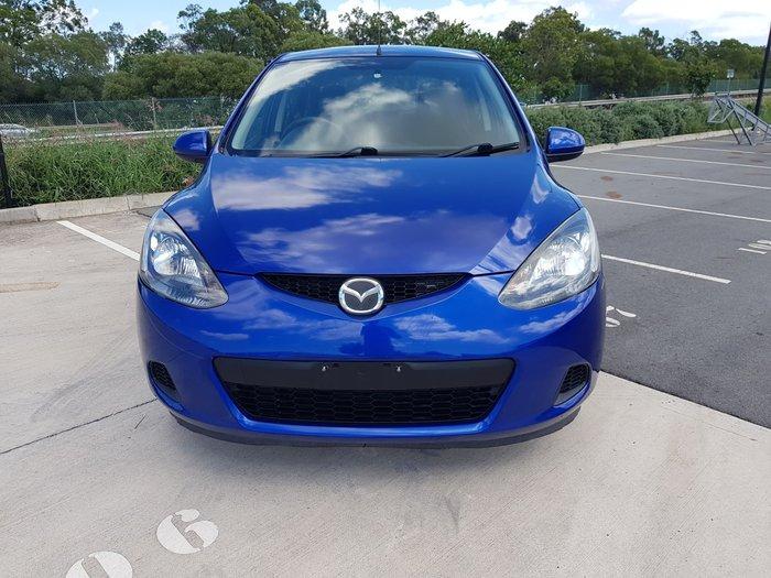2009 Mazda 2 Neo DE Series 1 Aurora Blue