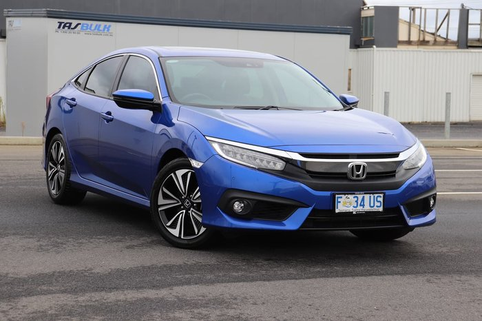 2016 Honda Civic VTi-LX 10th Gen MY16 Blue