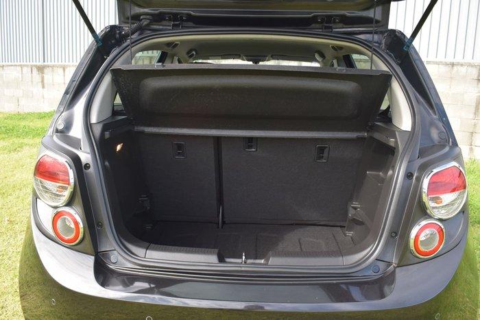 2013 Holden Barina CDX TM MY13 Carbon Flash