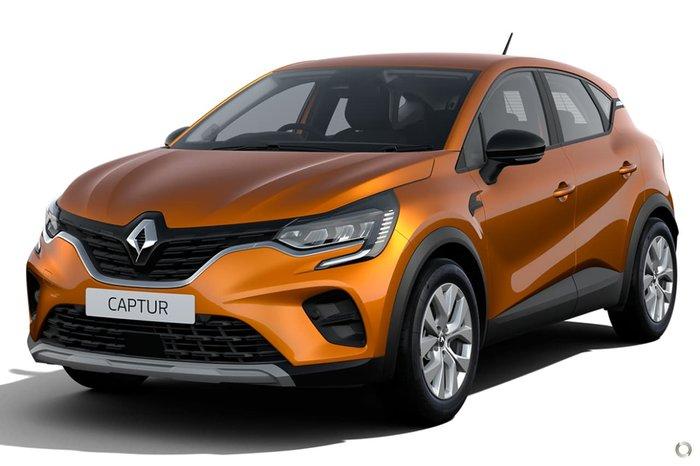 2021 Renault Captur Life JB Orange