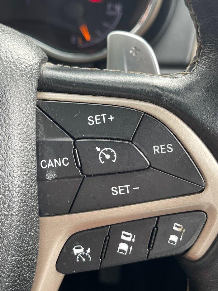 2014 Jeep Grand Cherokee Overland WK MY14 4X4 Dual Range Black