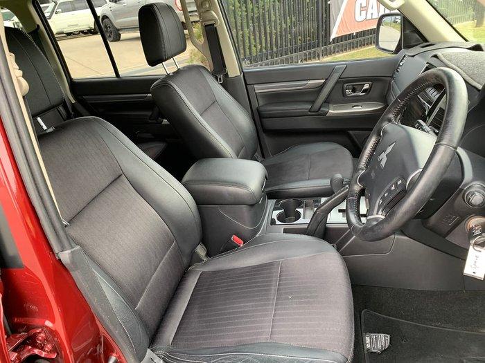 2015 Mitsubishi Pajero GLS NX MY15 4X4 Dual Range Red