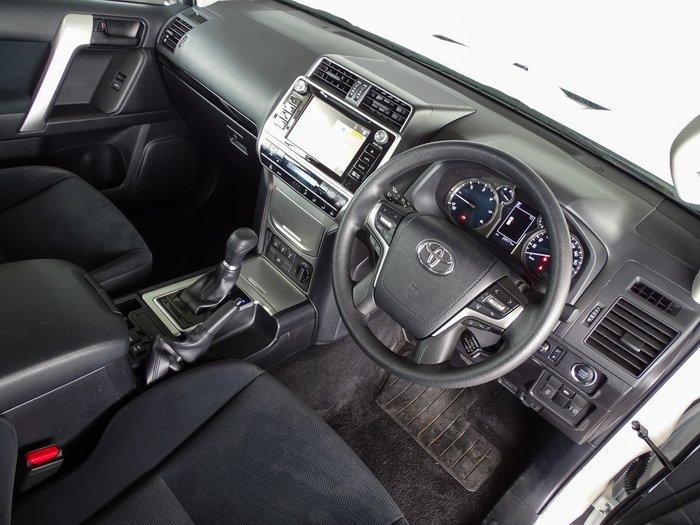 2019 Toyota Landcruiser Prado GXL GDJ150R 4X4 Dual Range Glacier White