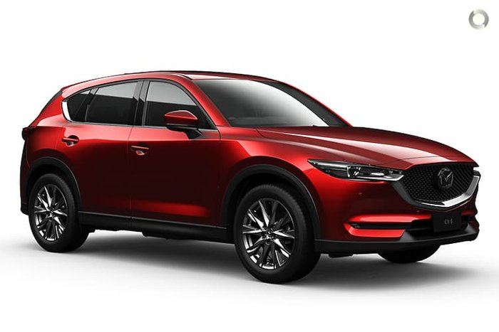 2021 Mazda CX-5 Akera KF Series AWD Soul Red Crystal