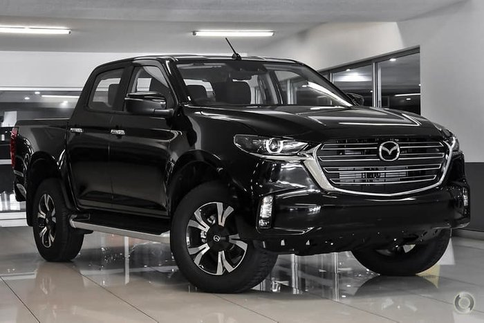 2021 Mazda BT-50 XTR TF 4X4 Dual Range True Black