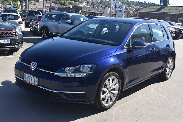 2018 Volkswagen Golf 110TSI Comfortline 7.5 MY19 Blue