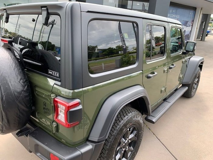 2021 Jeep Wrangler Unlimited Willys JL MY21 4X4 Dual Range Green
